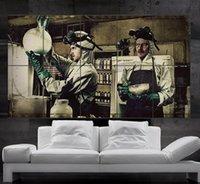 Breaking Bad cartel de la pared del arte del cuadro Jesse Pinkman Gus Walter White Heisenberg Skyler Saul 10parts NO2-239 libre del envío