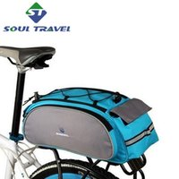 bicycle rack pack - Roswheel Bicycle Cycling Carry Bag Handle Rack Seat Cargo Rear Pack Trunk Pannier Multi function Load Carried New Bicicleta