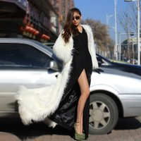 Wholesale Sexy Collared Vest - Cheap Multicolor Leather grass long leopard men and women Wang Fan sexy nightclub costumes costumes coat jacket