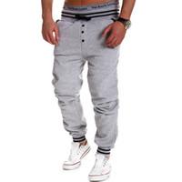 Wholesale High quality M XL Spring Autumn Brand mens sweat pants Men cotton trousers Casual Men pants men s Joggers pants