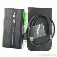 Wholesale S5Q quot Sata to USB Hard Disk Drive Fast CADDY HDD External Hard Disk Case External Enclosure