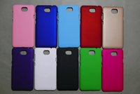 apple ii - Rubberized Matte Hard Plastic Phone Case For Samsung Galaxy NOTE7 NOTE Iphone Plus I7 Iphone7 Huawei Y5 II Colorful Skin Cover