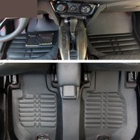 Wholesale 3Pcs Car Floor Mats For Honda HRV Vezel Waterproof Customize Mats Auto Accessories Universal