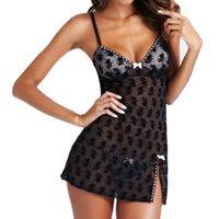 babydoll mini xl - Women Lace Lingerie Dress Nightwear Underwear Babydoll Sleepwear G string Mini Dress