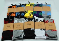 Wholesale 2016 New Arrival Men s Socks Women Huff Sock Maple Leaf Socks Long Fashion Socks Long Skateboard Hiphop Socks Unisex Fashion Socks C
