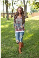 aztec print skirt - SABO SKIRT Pink Lily Boutique Mura Maui Hooded Sweatshirt Aztec Printed African Tribal Hoodie
