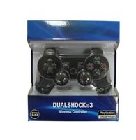 Wholesale PS3 Wireless Bluetooth Game Controller for Playstation3 PS4 Console for Video Games Joystick Gamepad SixAxis Vibration with retail package