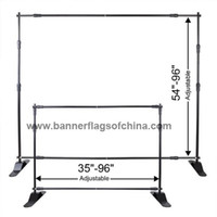 Wholesale Telescopic Banner Stand Freeshipping to West Europe