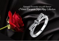 Wholesale GA7104 Sterling Silver Jewerly Rings Love silver engagement ring for women wedding rings Aniversary rings