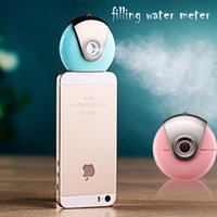 Wholesale Cell Phone Beauty Mist Spray Diffuser Portable Mobile Phone Filling Water Meter for iPhone s c s Plus SE and Android