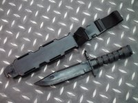 airsoft knife - Wargame Airsoft Tactical US Army Toy Plastic M9 Knife Outdoor Hunting Training Camping Survival Cosplay Knife Model Black