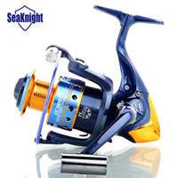 best carp reel - 2015 SeaKnight Best Spinning Fishing Reels Gear Metal Bass Carp Fishing Wheel Series Golden Blue Color Spin Coil
