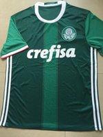 Wholesale 2016 Palmeiras SOCCER JERSEYs HOME GREEN DUDO G JESUS JEAN ALECSANDRO Palmeiras JERSEYS ALLIONE CLEITON XAVIER football SHIRTS