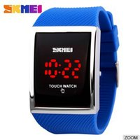 big led screen price - Hot Selling Factory Price Big Dial Big Wrist Touch Screen Led Fashion Watch