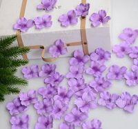 artificial christmas centerpiece - 2016 Hot Sale Item gradient fabric Silk petals silk Petal wedding centerpiece Wedding scattering flowers Wedding Supplies artificial HB73
