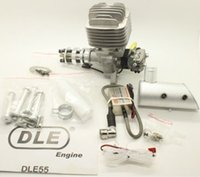 Wholesale DLE cc HP rpm Gasoline Engine Side Exhaust Airplanes Gas Engine