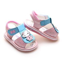 Wholesale Hot sell years girl s summer sandals Children s Shoes Girls Floral kids Princess Sandals with flowers