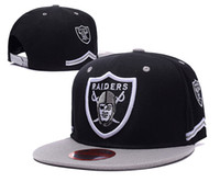 Wholesale wholsale price Raiders Oakland Snapback Caps Adjustable Football Snap Back Hats Hip Hop Snapbacks High Quality Players Sports
