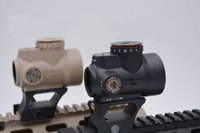 Wholesale MRO Style Red Dot Sight Scope With Low Mount And QD Mount For Hunting Black Sand