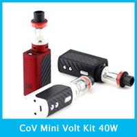 Cheap 100% Original CoV Mini Volt Kit 40W in Black By The Council Of Vapor with Mini Volt Box Mod Mini Tank