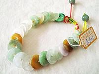 beautiful visits - Shipping A material of jadeite jade bracelet small beautiful birthday gift gift Jiapin Thanksgiving visit