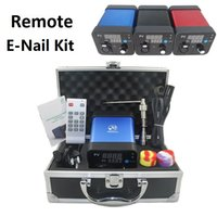 Wholesale 2016 E Nail Kit Dabber D Nail Electronic Box Kit Digital PID Temperature Control Box Dab Titanium Nail Domeless for Glass bong water pipes
