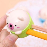 70g art holiday packages - 5pcs Bear Pencil Sharpener For School Kid s Prize Holiday Fashion Gift Practical Stationery School Office Supplies Papelaria