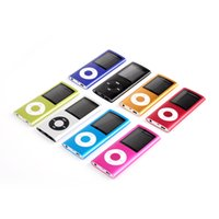 Wholesale Support TF Cards G Slim quot LCD Mp3 Mp4 Player Media Music Audio Player with accessories