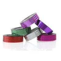 artistic fitness - pack Rhythmic Gymnastics Decoration Holographic Tapes RG Prismatic Glitter Tapes Gimnasia Ritmica Artistic Hoops Stick