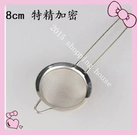 aniseed oil - Cooking tool Stainless steel filter strainer Coffee slag filter residue food pepper aniseed oil residue filtering net cm