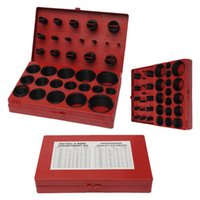 Wholesale 419 Silicon Gaskets Assorted O Ring Rubber Oring Seal Sizes Assortment Set Kit Garage Plumbing With Case