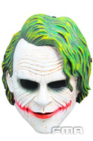 batman helmet - FMA Airsoft Wire Mesh Batman Joker Full Face Mask TB648 Helmet Masks Halloween carnival host gifts
