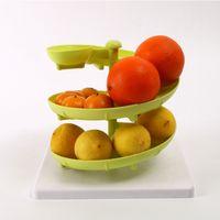 Wholesale Absolute New Brand Kitchen Egg Storage Shelf Flash Egg holder Three Layer Plastic kitchen cleaning organizer