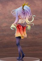 abs swimsuit - Lovely shiro swimsuit cartoon movie Action Figure Model Furnishing articles anime No Game No Life hand toy doll kids gift