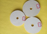 Wholesale 2016 hot sale good quality low price China fine wool felt polishing wheel for stainless steel