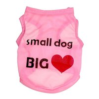 Vests Spring/Summer Halloween New Small Dog Big Heart Dog Apparel Fashion Cute Dog Vest Pet sweater Puppy Shirt Soft Coat Jacket Summer Dog Cat Clothes