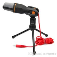 Wholesale 50pc Professional Skype Stereo Condenser Sound Podcast Microphone Mic PC Laptop Z00410