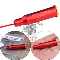 aluminium bearing - 2016 NEW x54R Red Laser Bullet Shaped Bore Sighter Cartridge Aluminium Boresighter for gun laser