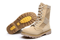 best deserts - Best Quality Men Military Tactical Boots Men s Outdoor Hunting Desert Motorcycle Army Combat Boots Shoes Autumn Suede Leather Ankle Boots