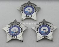 Metal antique and collectible - United States Chicago the United States and the PD CHICAGO DETECTIVE OFFICER general agent