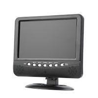 Wholesale Portable LCD Color Analog TV Mini Digital TFT Mobile TV Monitor Remote Control Support MMC AVI MP3 US EU plug