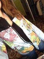 MENS JACKETS - New Cooperation Suprem Jacket M Reflective Flag Hooded Outdoor Coat Mens Reflective Jacket Black And Map Windbreaker Hoodie