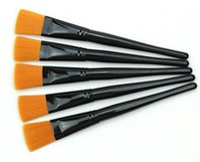 Wholesale Slender Foundation Powder Cosmetic Makeup Brush Practical Blush Facial Mask Brush Tool DHL