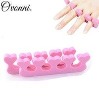 Wholesale Fashion Popular Trendy Soft Sponge Foam Finger Toe Separator Nail Art Salon Pedicure Manicure Nail Tools
