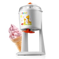 Wholesale household automatic fruit ice cream machine ice cream cone l