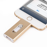 apple memory cards - Mobile Phone Extended Memory Card USB i FlashDrive Flash Drive Memory Card Reader for iPhone iPad iOS U disk Order to choose the color