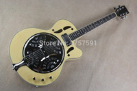 Wholesale High Quality maestro brand custom Dobro Resonator burlywood Electric Guitar
