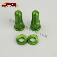 Wholesale OFF ROAD MOTORCYCLE MOTOCROSS MX BIKE KTM CRF YZF RMZ DRZ KXF GREEN RIM LOCK NUTS AND WASHERS SECURITY BOLTS