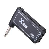 Wholesale High Quality Xvive GA4 Metal Mini Portable Rechargeable Electric Guitar Plug Headphone Amp Amplifier Guitar Parts