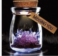 Wholesale 2016 Premiums Magic Wishing Crystal Wish Grow A Crystal DIY Growing Kit Kids Magical Toys Christmas Educational Baby Toy